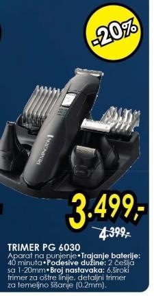 Trimer PG6030