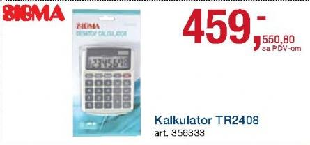 Kalkulator Tr2408