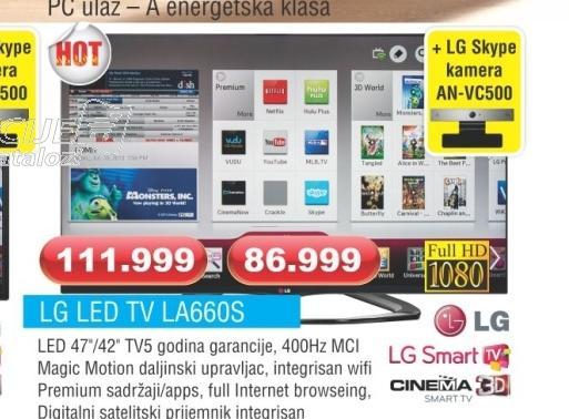 LED TV 42LA660S