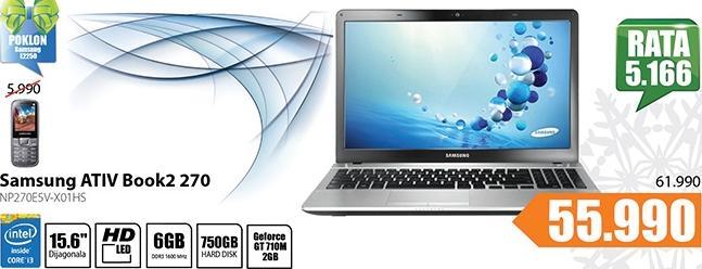Laptop ATIV Book2 270 NP270E5V-X01HS