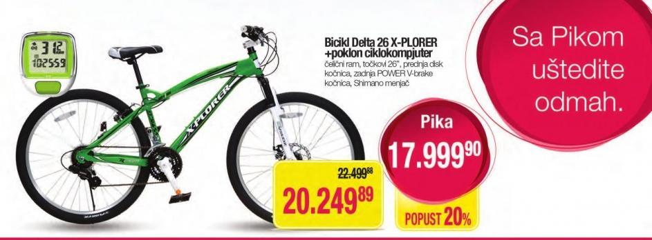 Bicikl Delta 26 X-Plorer
