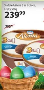 Sladoled 3 in 1 choco