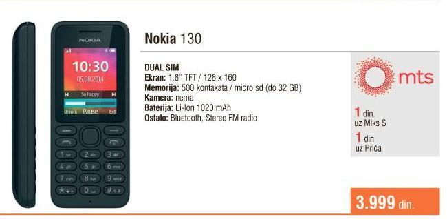 Mobilni telefon 130
