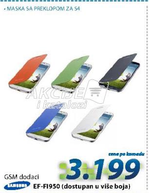 Torbica / zaštita za telefon EF-FI950 BOOK COVER S4