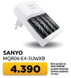 Brzi punjač sa 4 baterije Mqr06-e4-3uwxb