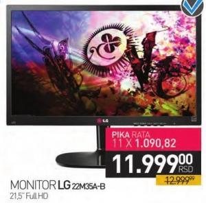 """Monitor LED 21.5"""" 22M35A-B"""