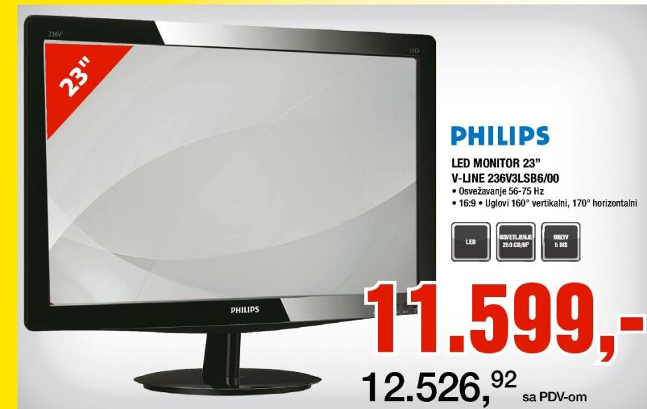 LED Monitor 23'' V-line 236V3LSB6/00