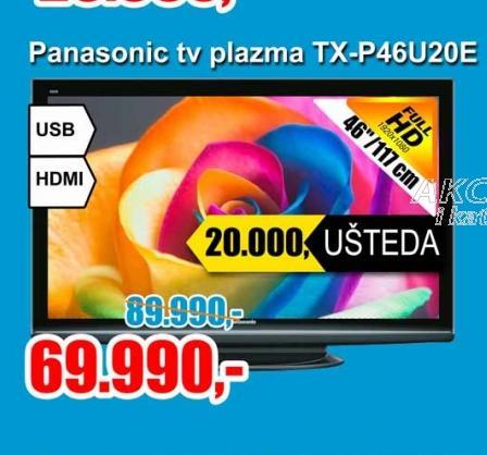 Televizor plazma TX-P46U20E