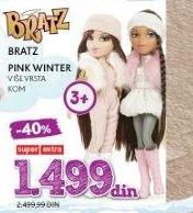 Lutka Bratz Pink Winter