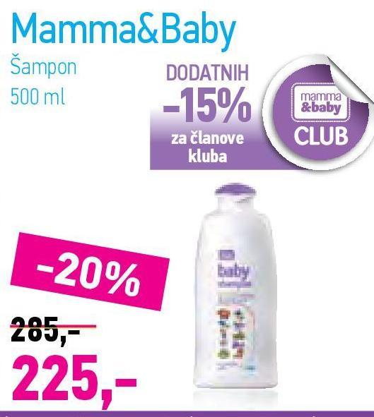Baby šampon