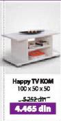 Komoda HAPPY TV KOM bela