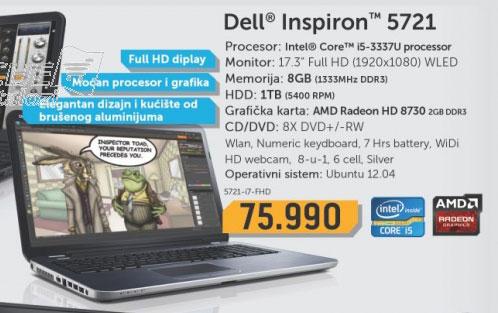 Laptop  5721-i5
