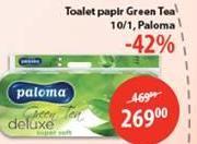 Toalet papir 3sl Deluxe green tea