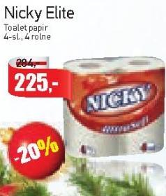 Toalet papir 4sl