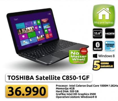 Laptop Satellite C850-1GF