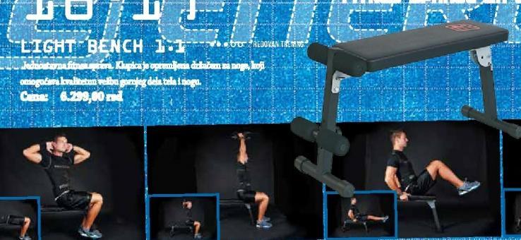 Sprava za vežbanje Light Bench 1.1
