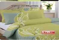 Krepovani saten Dubl posteljina