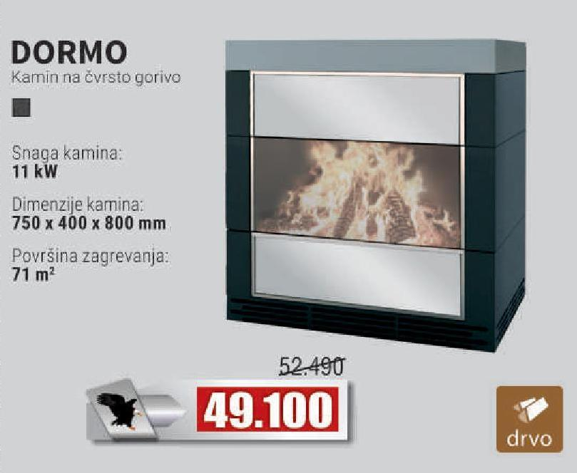 Kamin Dormo