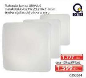 Plafonska lampa URANUS