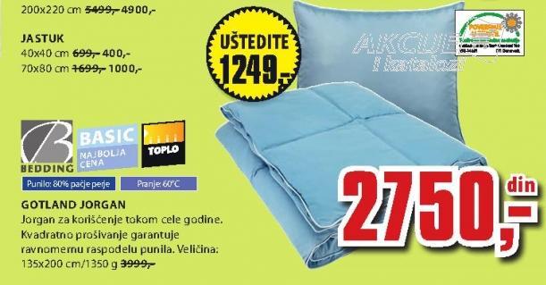 Jorgan Gotland Bedding 200x220