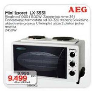 Mini šporet, električni LX-3551