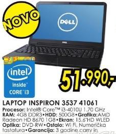Laptop Inspiron 3537 41061