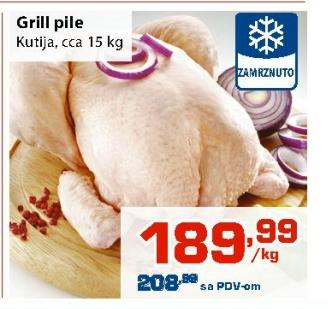 Pile grill