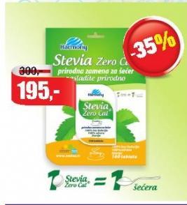 Zaslađivač Stevia