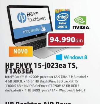 Laptop ENVY 15-j023ea