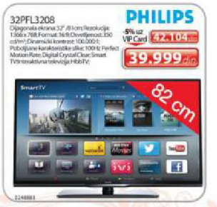 LED Televizor 32PFL3208