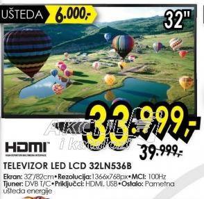 """Televizor LED 32"""" 32LN536B"""