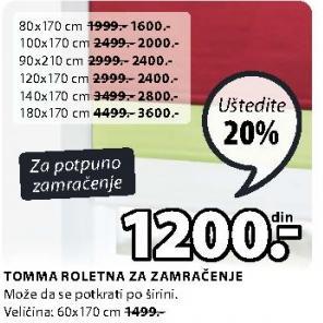 Roletna Tomma 60x170cm