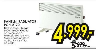 Panelni radijator PCH-2170