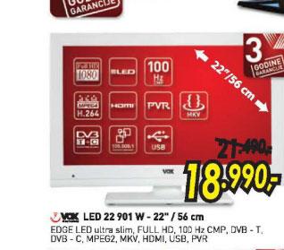Televizor LED LCD 22 901