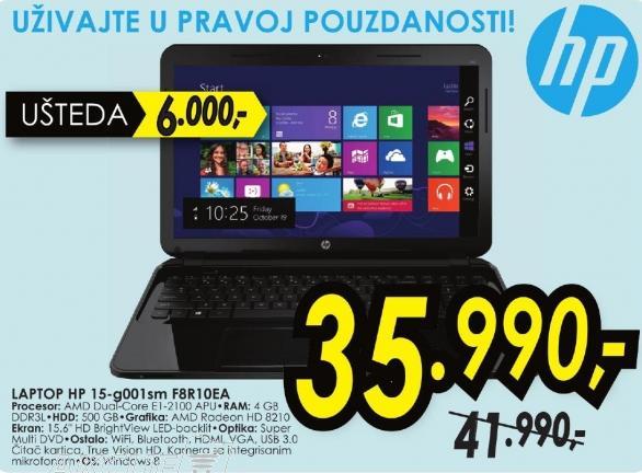 Laptop 15-g001sm F8r10ea