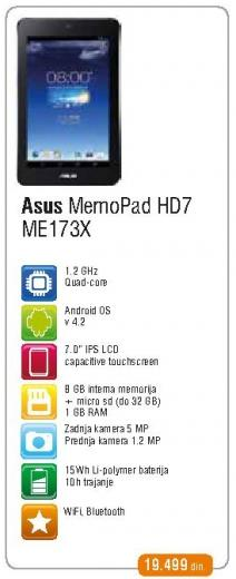 Tablet MomoPad Hd7 Me173x