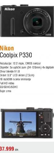 Fotoaparat Coolpix P330