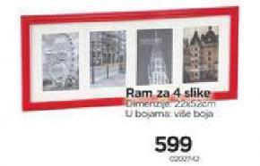 Ram za 4 slike
