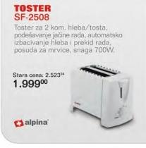 Toster SF-2508