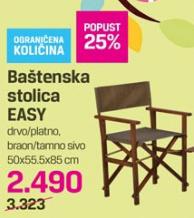 Baštenska stolica Easy