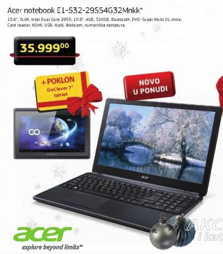 Laptop Notebook E1-532-29554G32Mnkk