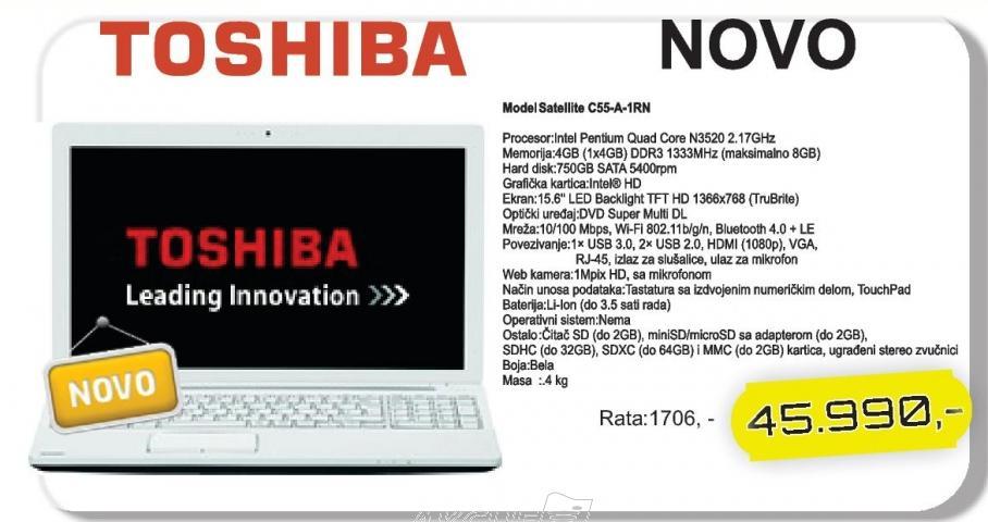 Laptop Satellite C55-A-1rn