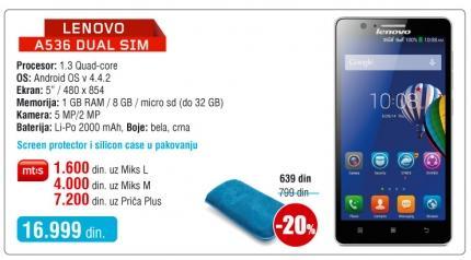 Mobilni telefon A536