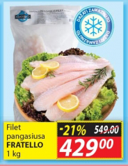 Riba pangasius filet