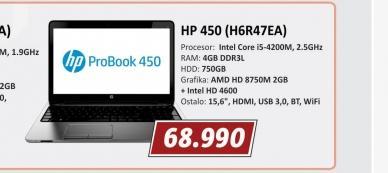 Laptop 450 H6R47EA