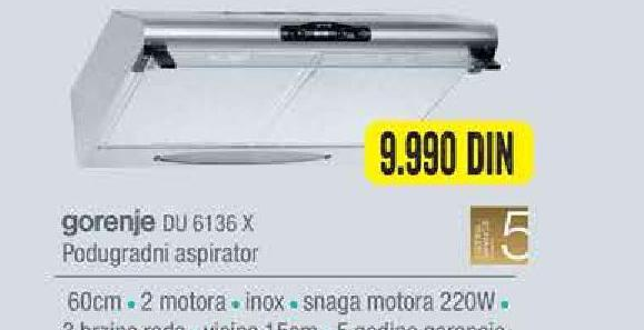Aspirator Du 6136x