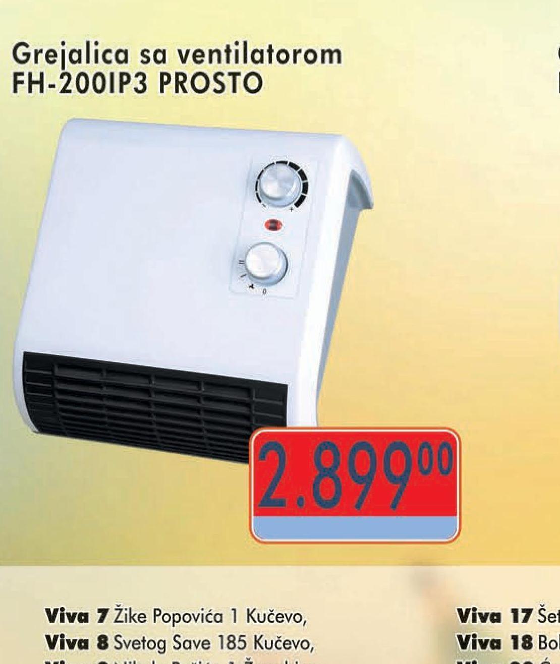 Grejalica FH 200IP3