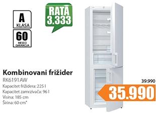 Kombinovani frižider RK6191AW