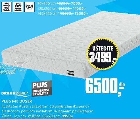Dušek Plus F40 120x200