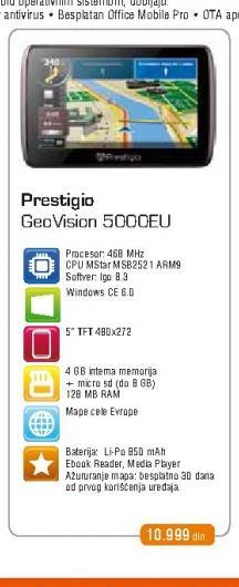 Auto navigacija 5000 iGo